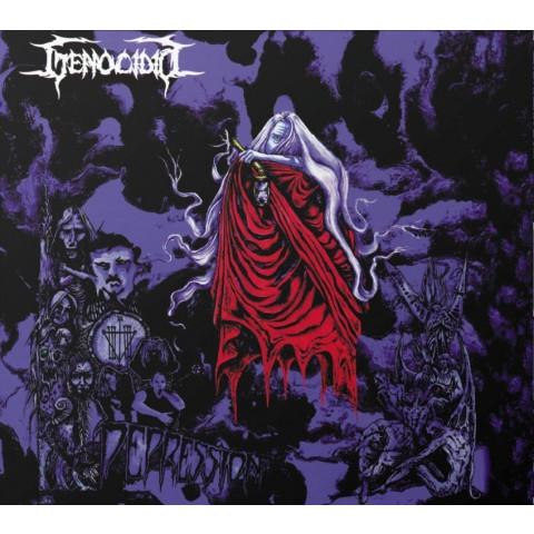 GENOCIDIO - Depression (CD-Original-Box Acrilico-Rarissimo) - Old School Death Metal a la SODOM, BATHORY, SARCOFAGO e BEHERIT. Ultimas Cópias. FRETE GRÁTIS