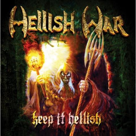 HELLISH WAR - Keep It Hellish (CD), Heavy Metal Tradicional, Raro, 2 CDs no estoque !! FRETE GRATIS