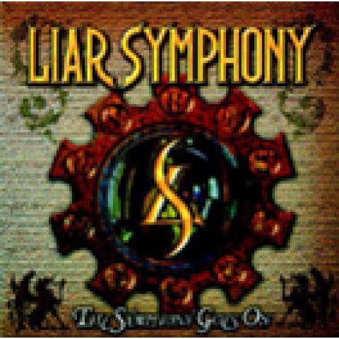 LIAR SYMPHONY - The Symphony Goes On (CD) -  -Dramatic Heavy Metal - Raridade, Ultimas cópias em estoque !!! FRETE GRÁTIS
