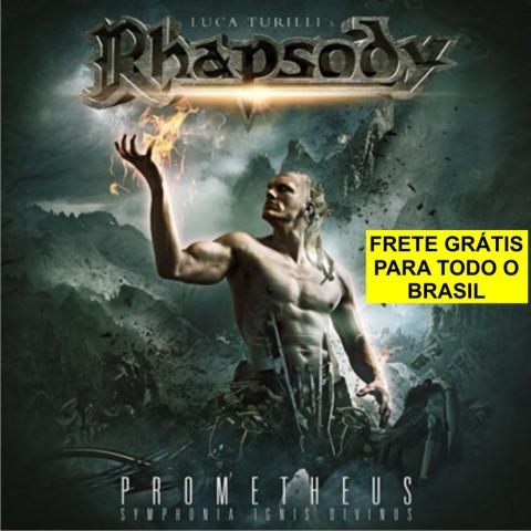 RHAPSODY's LUCA TURILLI - Prometheus (CD) - Melodic Heavy Metal - FRETE GRÁTIS