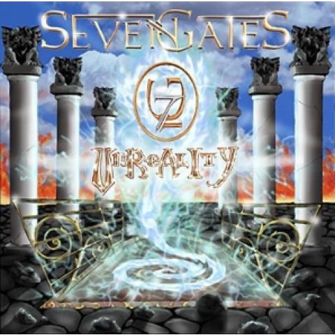 SEVEN GATES - Unreality (CD), Heavy Metal melodico Italiano a la Rhapsody, Raridade, Ultimas cópias em estoque !!! FRETE GRÁTIS