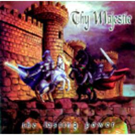 THY MAJESTIE - The Lasting Power (CD), Heavy Metal melodico Italiano a la Rhapsody, Raridade, Ultimas cópias em estoque !!! FRETE GRÁTIS