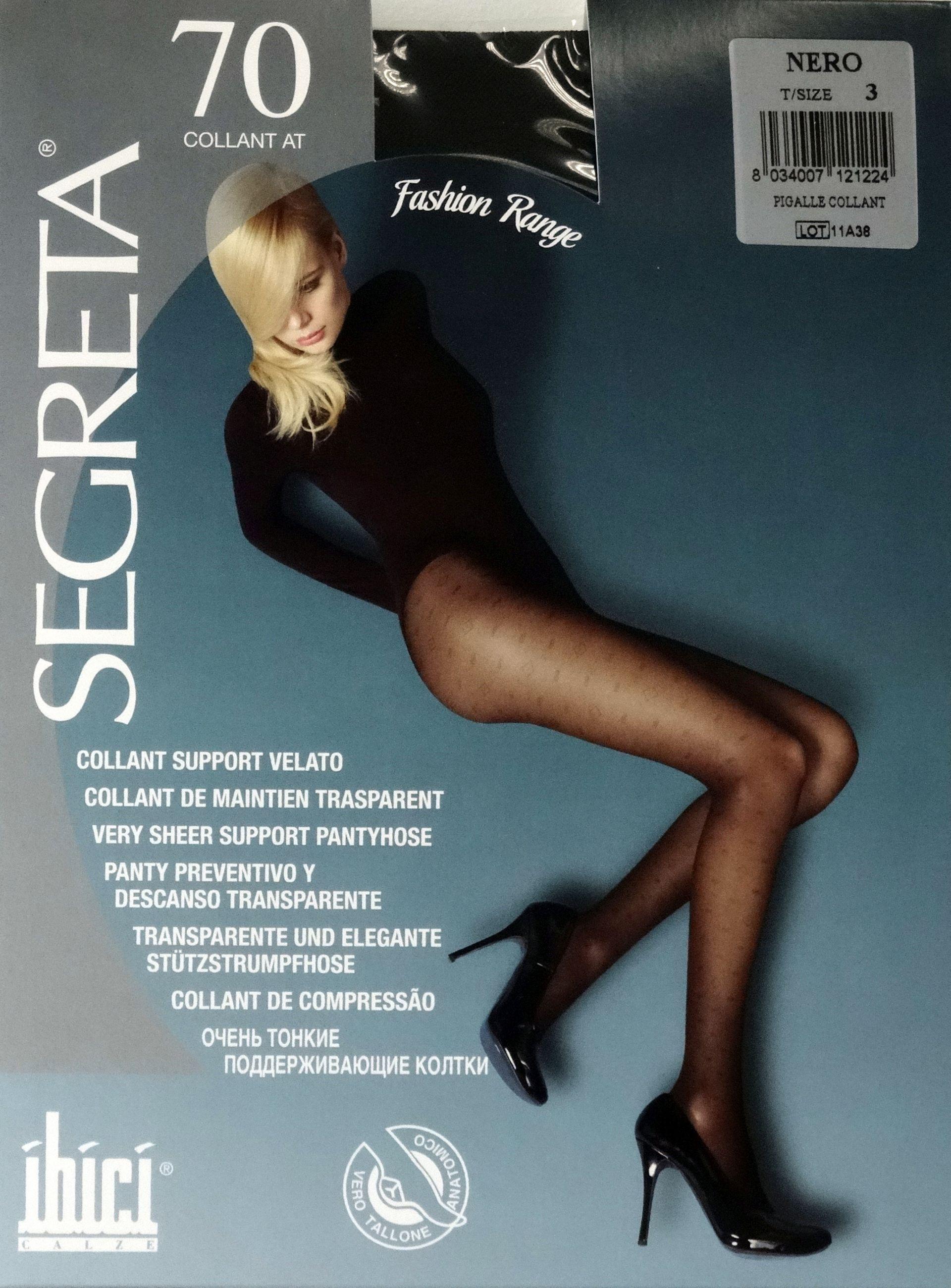 a1523c145 70 Segreta Colant Pigalle Fashion - meia-calça de suave compressão ...