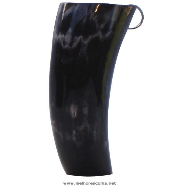 Kit Guampa de Chifre com Bomba - Guampa de 15cm
