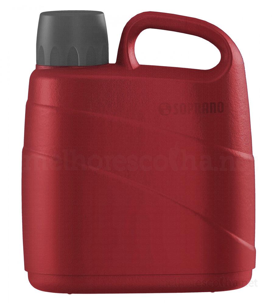 Garrafa Térmica Soprano 5 Litros - Vermelha