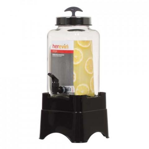 Suqueira De Vidro Herevin Com Pedestal - Ideal para Tereré