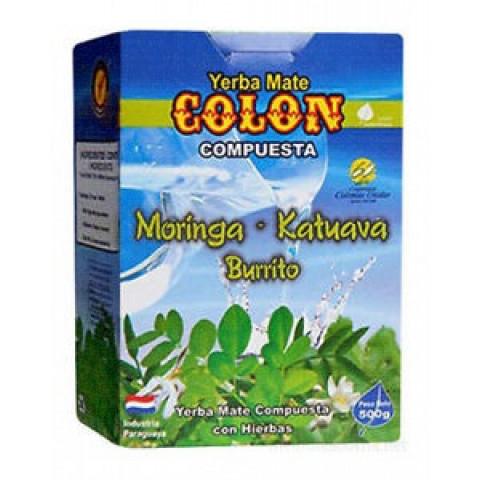 Erva Mate para Tereré Colon - Moringa, Katuava e Burrito