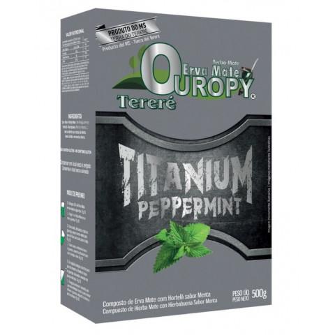 Erva Mate para Tereré Ouropy - Titanium Peppermint