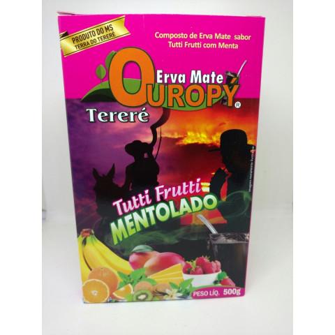 Erva Mate para Tereré Ouropy - Tutti Frutti Mentolado