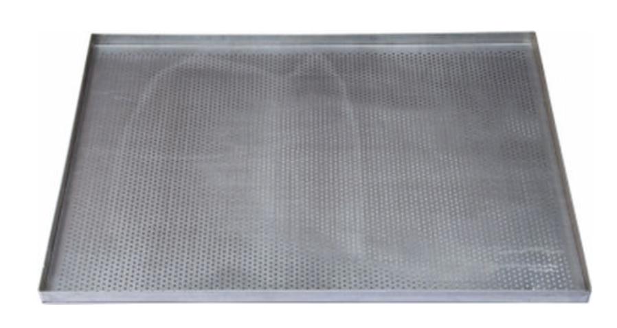 Assadeira para pão de queijo PERFURADA 35x35x2 cm (Aluminio 1,0 mm) Exclusivo para forno Ferri