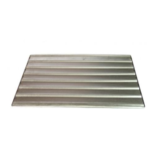 Assadeira para Bisnaguinha 40x67 cm em alumínio