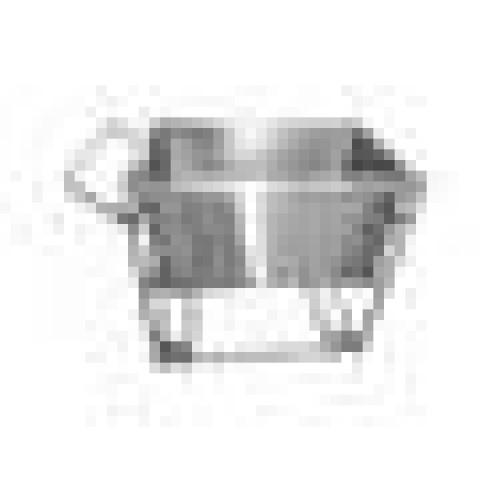 CARRO PARA CARNES COM CUBA INOX - MEDIDA 0,82X49,5X0,47 - CAPACIDADE 192 LITROS