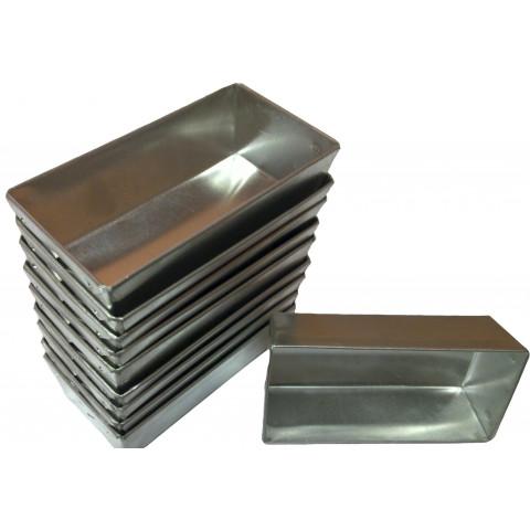 Forminha brevidade (Aluminio) com 12 peças