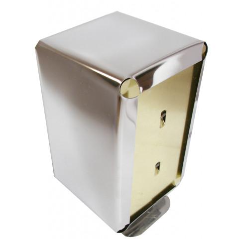 Porta guardanapo tipo TV (Inox)