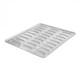 Assadeira Hot dog estampada 27 cavidades 58x70 cm (Aluminio 1,2mm)