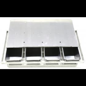 Conjunto Pão de Forma Integral 400 gr (Alumínio) 4 Canecas