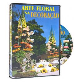 DVD Arte Floral na Decoração