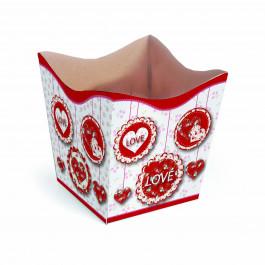 Cachepot G - Love Pingente Vermelho
