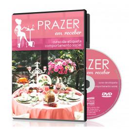 DVD Curso de Etiqueta - Prazer em Receber