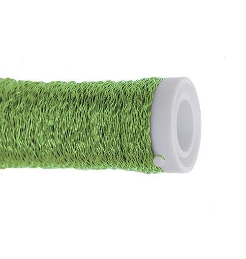 Arame Decorativo Ondulado - Verde Cítrico