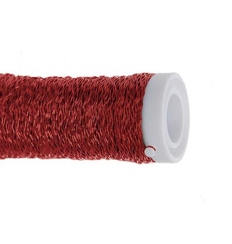Arame Decorativo Ondulado - Vermelho