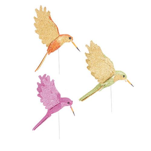 Beija-Flor Glitter - cores mistas