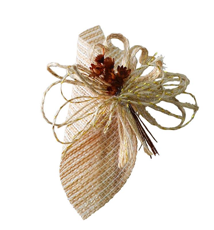 Porta-Guardanapo - Flores e Coração
