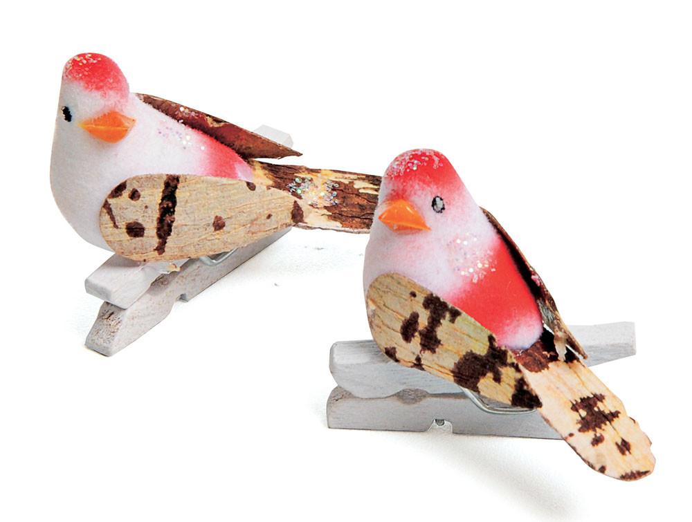 Pregador de Pássaro - Pink