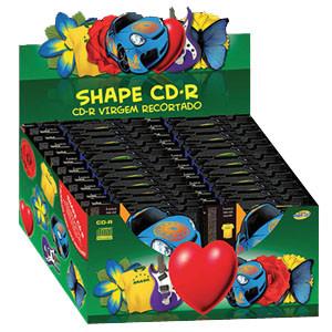 SHAPE CD-R (CAIXA COM 50 UNIDADES SORTIDAS)