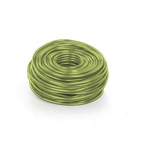 Arame de Alumínio P - Verde Cítrico