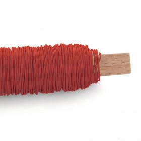 Arame Decorativo Liso - Vermelho