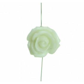 Arame Pérolas e Rosas Brancas