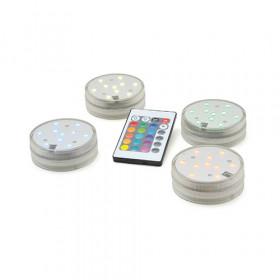 Base de Luz com 10 Leds - 16 cores