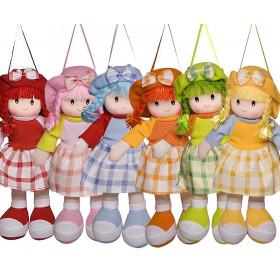 Boneca Paty Vestido Xadrez - 6 UNIDADES
