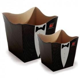 Cachepot P - Black Tie