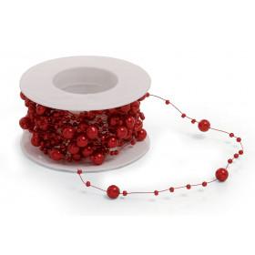 Cordão Pérola - Vermelho