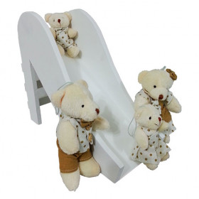 Escorregador com a Família de ursinhos