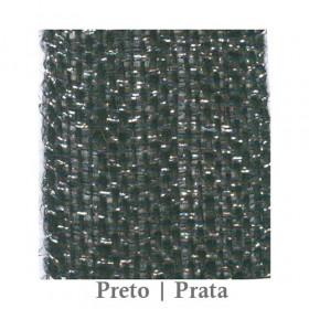 Fita Juta 1210 - Preto | Prata