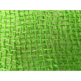 Tela de Juta 145 - Trama Aberta - Verde Lima (cor 220)