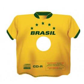 SHAPE CD-R CAMISA DO BRASIL (1 UNIDADE)