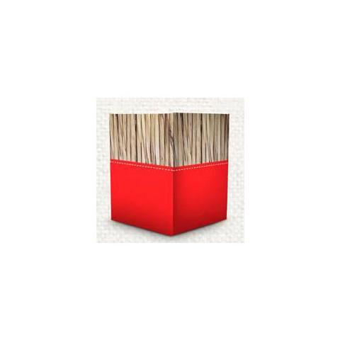 Cachepot Quadrado - Serenidade Vermelho