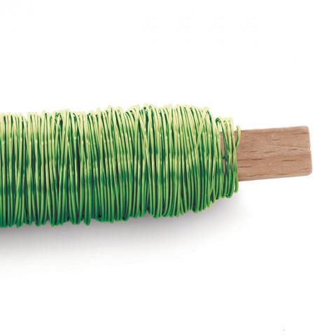 Arame Decorativo Liso - Verde Cítrico