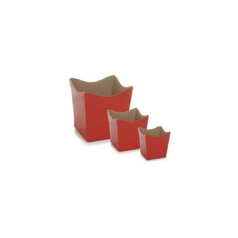 Cachepot PP-6 - Vermelho