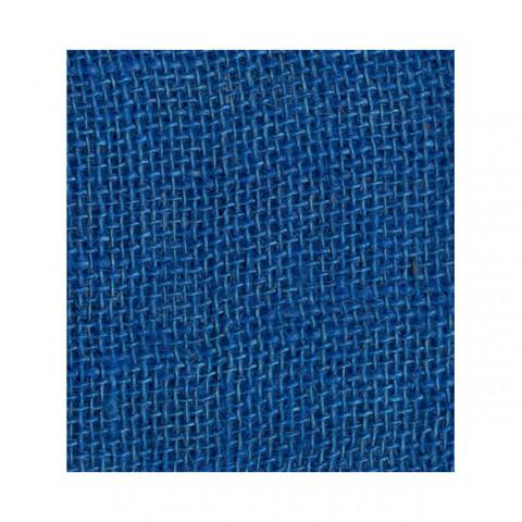 Tela de Juta 245 - Trama Fechada - Azul Royal (cor 20)