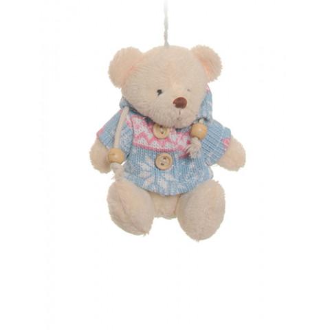 Ursinho com Blusa de Tricot (10 cm)