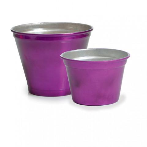 Vaso de Alumínio - Roxo Metalizado (G)