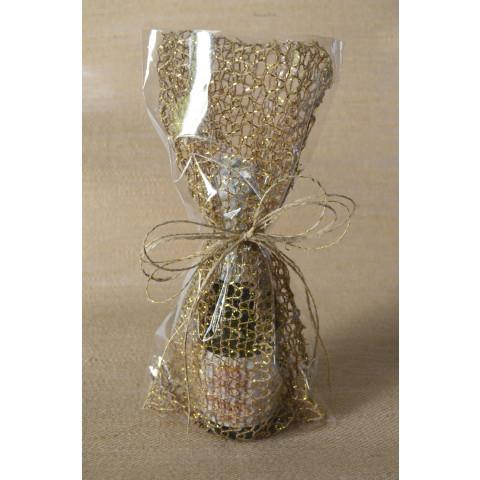Embalagem Especial de Juta | Ouro - 15x30cm