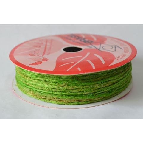 Fio de Juta 3000 - Verde Lima