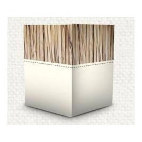 Cachepot Quadrado - Serenidade Marfim