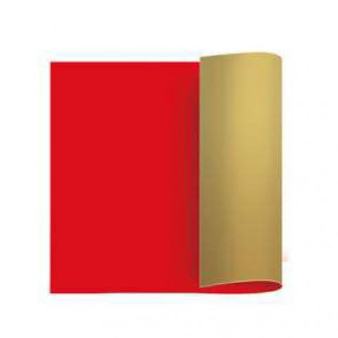 Papel Kraft - Vermelho | Ouro